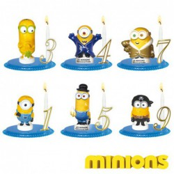 Bougeoirs Minions