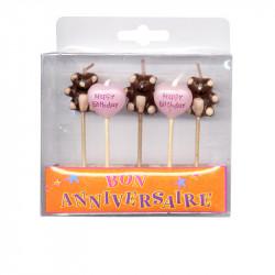 Mini-bougies sur pic