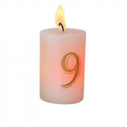 Bougie luminescente N°9