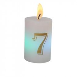 Bougie luminescente N°7