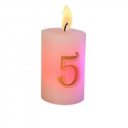 Bougie luminescente N°5