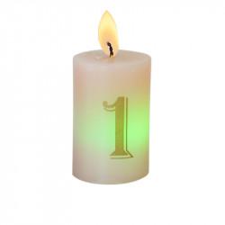 Bougie luminescente N°1