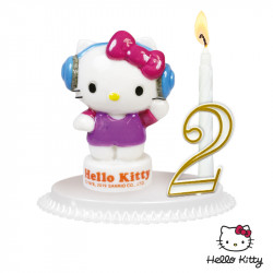 Bougeoirs Hello Kitty