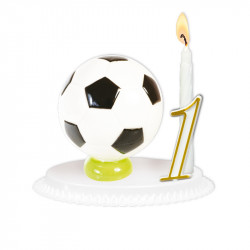 "Porte-bougies ""Sports et Loisirs"" : Ballons"