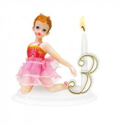 "Porte-bougies ""Enfants"" : Ballerine"